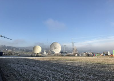 winter at HB9Q, frozen fog