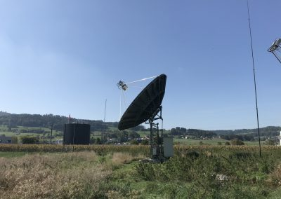 10m solid dish for UHF & SHF