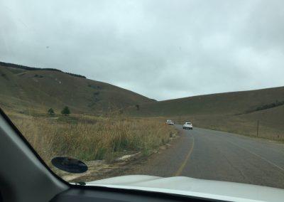 we climb the hills