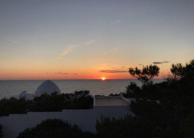 last sun-set