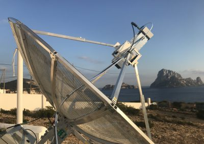 13cm station with Illa es Vedra