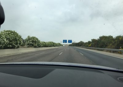 empty spanish highway!
