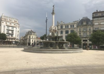overnight in Valence, France