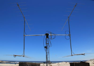 144 MHz 4x9el yagi