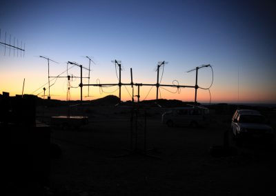 sun-set at Diaz Point 432 MHz