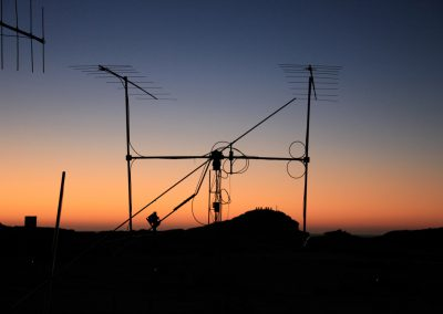 sun-set at Diaz Point 144 MHz