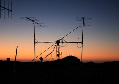 sun-set at Diaz Point 144 MHz