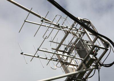 144 MHz 2x4el horizontal & 2x4el vertical LFA yagis