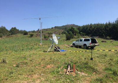 6m antenna and shack (pick-up)
