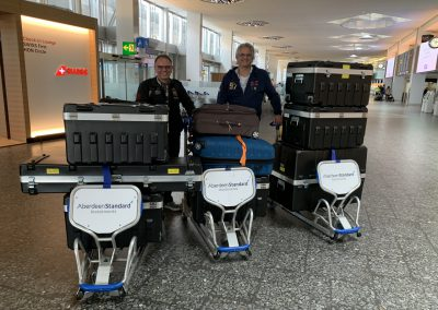 ready to check-in in Zürich