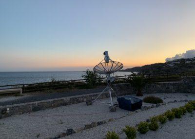 23cm overlooking the Mediterranian Sea