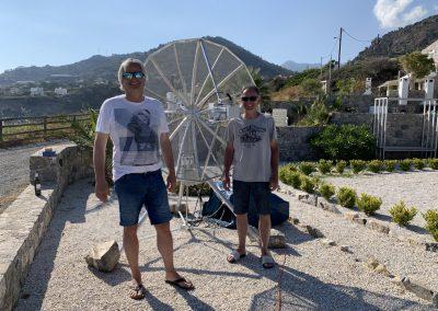 Dan (l) and Sam (r)
