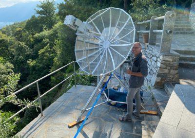 Sam checking 1296 MHz setup